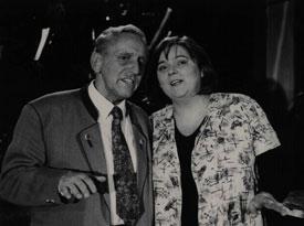 Max Graf mit Maria Peschek