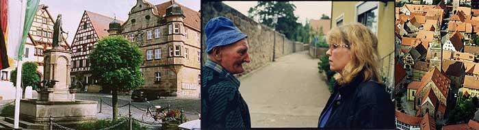 Wolframs-Eschenbach, Fotos: ©BR und Albrecht Schinnerer (Mitte)